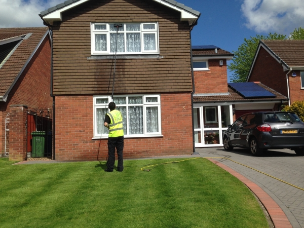 We take on subcontract window cleaning work in Wigan, Bolton and Warrington.