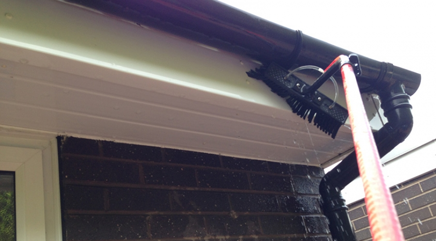 uPVC, Gutter, Soffit and Fascia Clearing and Cleaning in Leigh, Bolton & Wigan